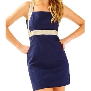 Lilly Pulitzer Dresses - Lilly Pulitzer Eliana Shift Dress in True Navy